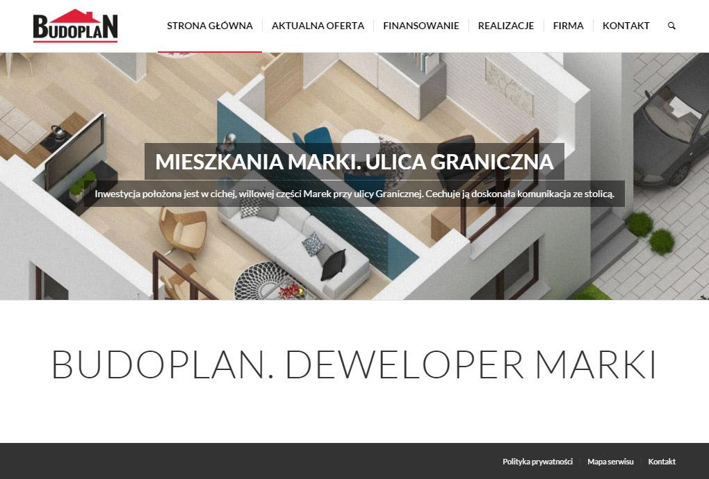 Nowa strona Budoplan